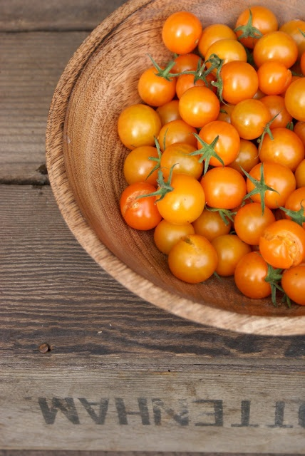 Juicing cherry tomatoes is like making your own V8. But better.