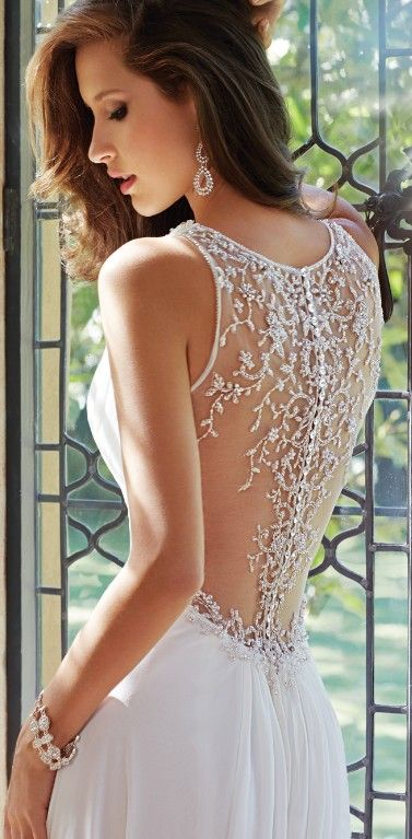 Breathtaking 50 Unique & Hot Backless Wedding Dresses 2017
