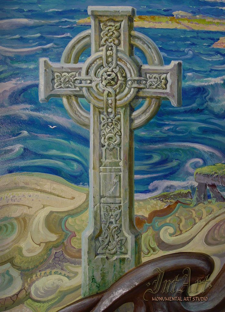 #CeLtic #Cross #murals #роспись #Dmitry_Kostylew #IntArtStudio Костылев INTART STUDIO». #murals #painting #intart #роспись_стен #роспись #Заказать_Роспись #Dmitry_Kostylew #Дмитрий_Костылев