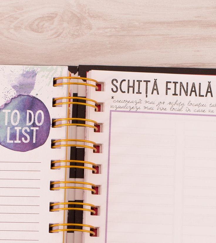 Wedding Planner - Agenda de nunta Lady Cozac55