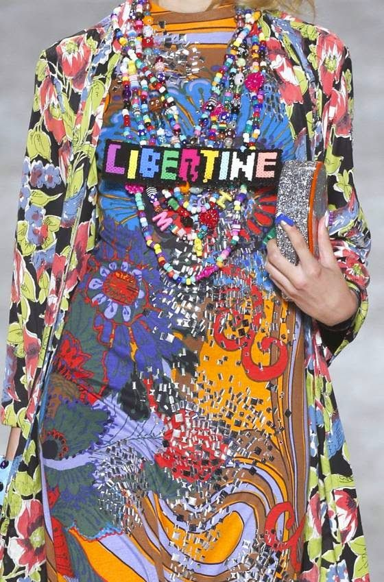 patternprints journal: PRINTS, PATTERNS AND SURFACES FROM NEW YORK FASHION WEEK (WOMAN COLLECTIONS SPRING/SUMMER 2015) / Libertine