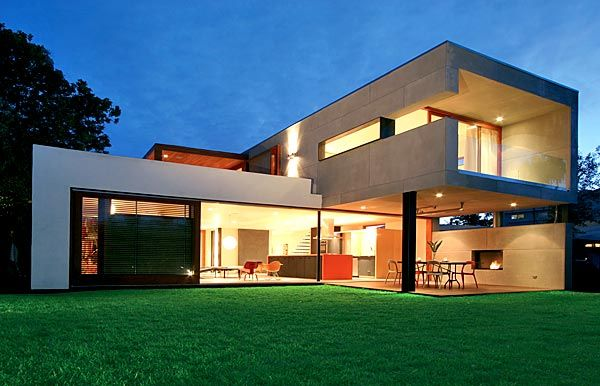 Tryggvi Thorsteinsson and Erla Dogg Ingjaldsdotti Rudolph Schindler inspired home. #Subtractive Form #Architecture