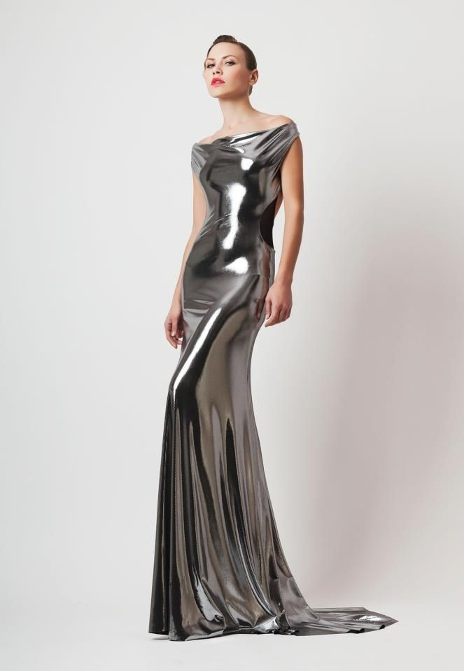 Silver Amp Grey Dress Fashion Silver Dress Dresses Fashion