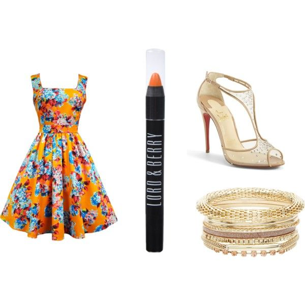 Sin título #30 by belendemi on Polyvore featuring moda, Christian Louboutin and Lord & Berry