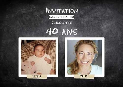 1000 id es propos de invitation anniversaire 50 ans sur pinterest invitation 30 ans id e. Black Bedroom Furniture Sets. Home Design Ideas