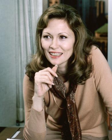 "Faye Dunaway as Diana in ""Network"" (1976)  Best Actress Oscar 1976"