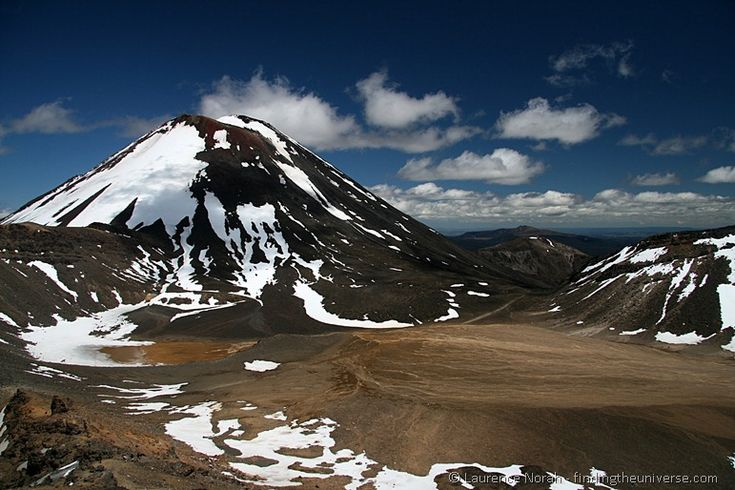 Mount Ngauruhoe and the South Crater - New Zealand