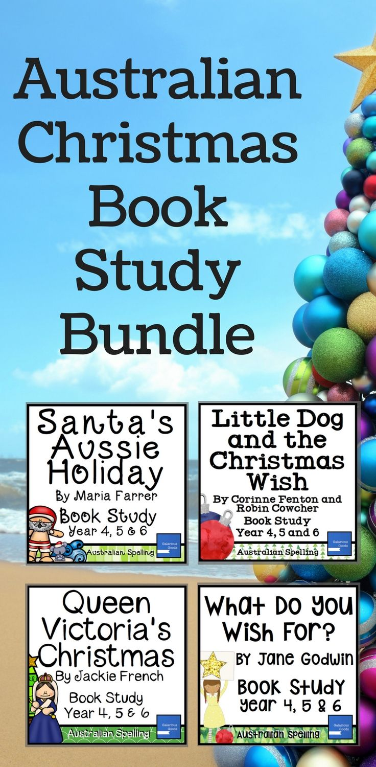 Explore four Australian Christmas books with these picture book studies from Galarious Goods. Engage Year 4, Year 5 and Year 6 students in the lead up to Christmas with reading, writing, research, discussion and creative activities. Perfect for the last weeks of school. #australianchristmas #christmaslesson #picturebook #bookstudy