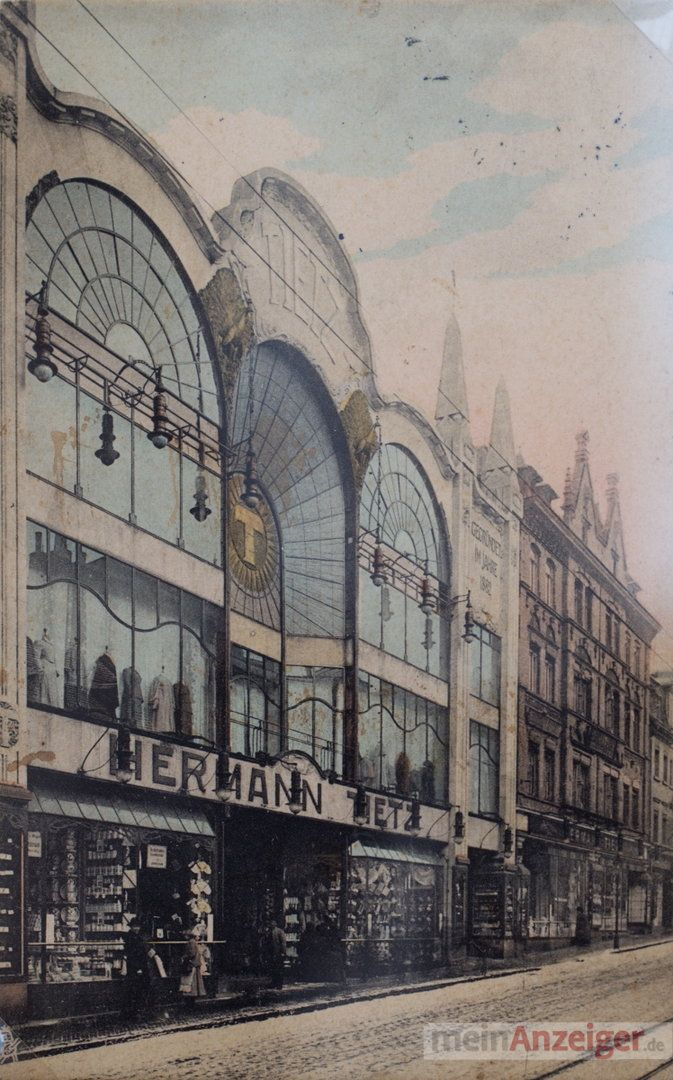 department store, kaufhaus Hermann Tietz, 1904, Gera, Germany