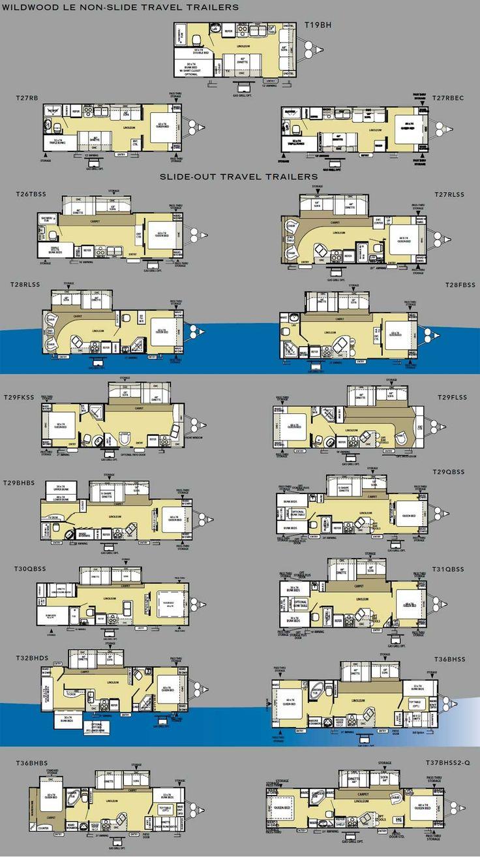 the 25 best travel trailer floor plans ideas on pinterest