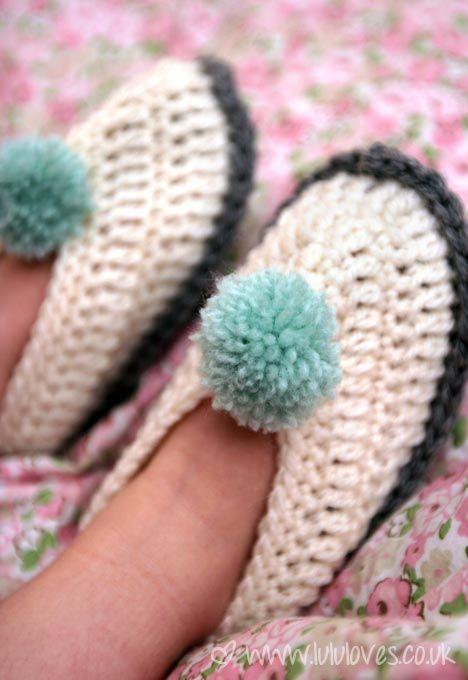 crochet-slipper1... For AB @Olivia Gutierrez-Beacham