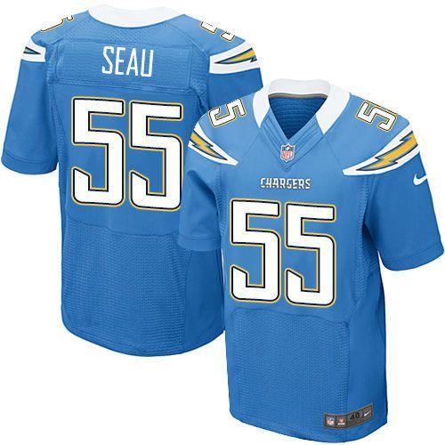 ... Nike Mens Nick Hardwick Electric Blue C Patch Jersey) San Diego Chargers  Alternate . c006ebdaa