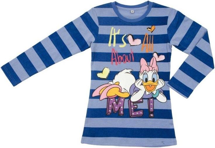 It's All About Daisy, maglia T-Shirt a Maniche Lunghe Paperina, Abbigliamento Disney Invernale per bambine - TocTocShop.com -Ora in Saldo solo $11,90eur!
