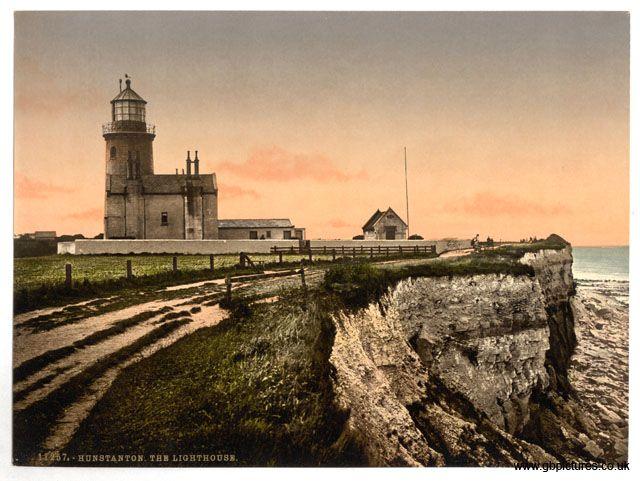 Lighthouse: Old Hunstanton Lighthouse