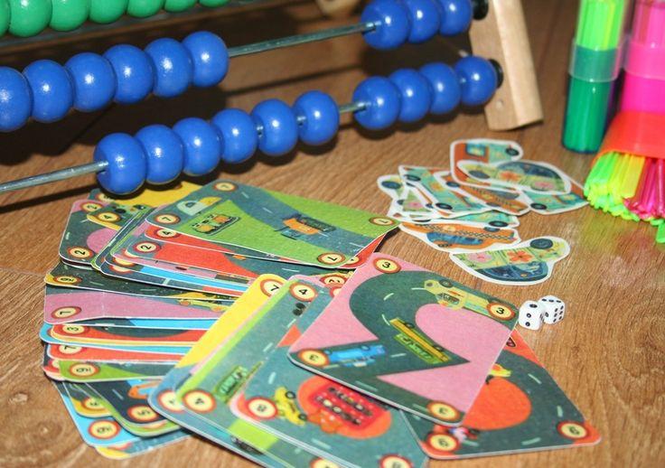 Карточная супер-игра для тренировки простых математических действий! Rally от Djeco скачать! - Игры с детьми - Babyblog.ru