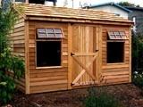 Bar Harbor Salt Box Shed - traditional - sheds - - by Summerwood