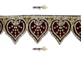 tyle No. : 006569  This Embroidery Cutwork ( Embroidery Cutwork ) comes with Plain decoration widely used by Apparel & Clothing Industry