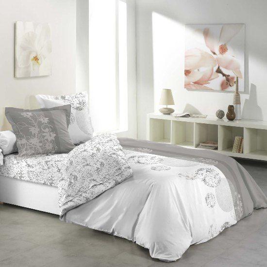Parure Drap Plat, Drap Housse BUBBLES Disponible sur notre site www.textile-de-maison.net