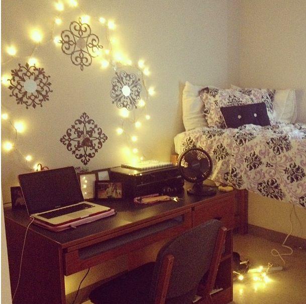Decorative Lights For Dorm Room. Great Cozy Dorm Room Lighting Warm ...