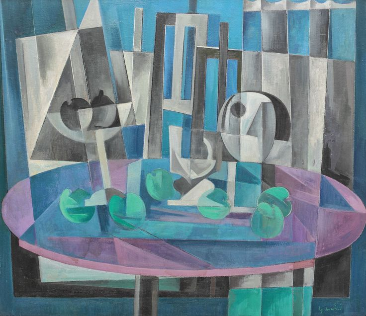 Spiru Chintilă, Still life with purple table
