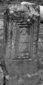 Stele with Tanit symbol