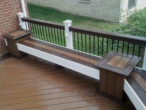 Deck Benches Deck Benches In 2019 Deck Builders Cool