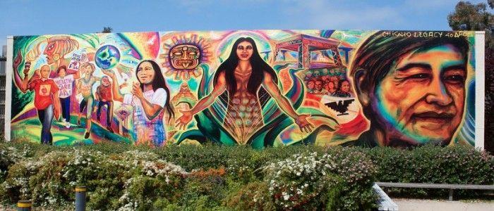 Chicano mural east side street style pinterest for Chicano mural art