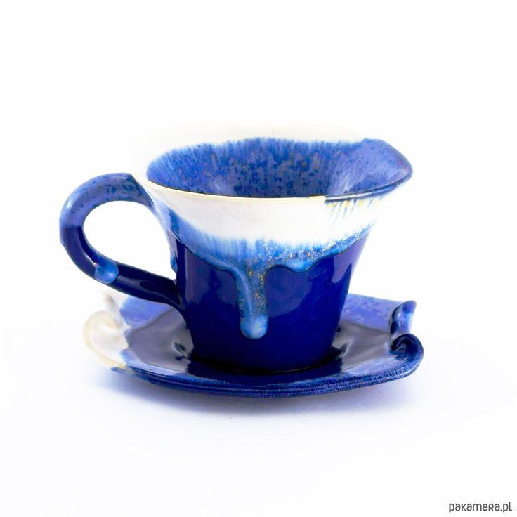 dodatki - kuchnia - kubki i filiżanki-Filiżanka na herbatę z serii Chaber