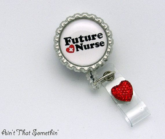 Future Nurse Retractable Badge Reel - Nurse Badge Clips - Medical ID Reels - Designer Badge Reels - Cute ID Holder - Student  Nurse Gifts on Etsy, $8.00