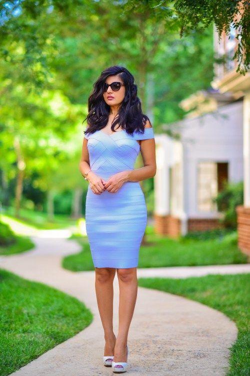 Bandage Bardot Dress http://zunera-serena.com/bandage-bodycon-dress/