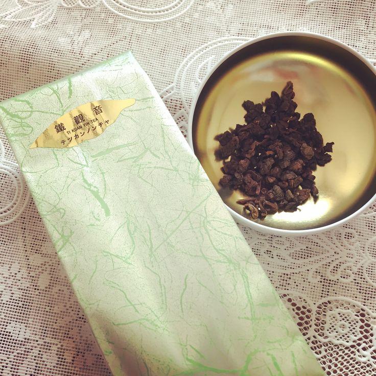 天仁茗茶(ten ren's tea) 鉄観音茶。体を温めてくれるし、飲みやすいから冬の常飲茶としていい。