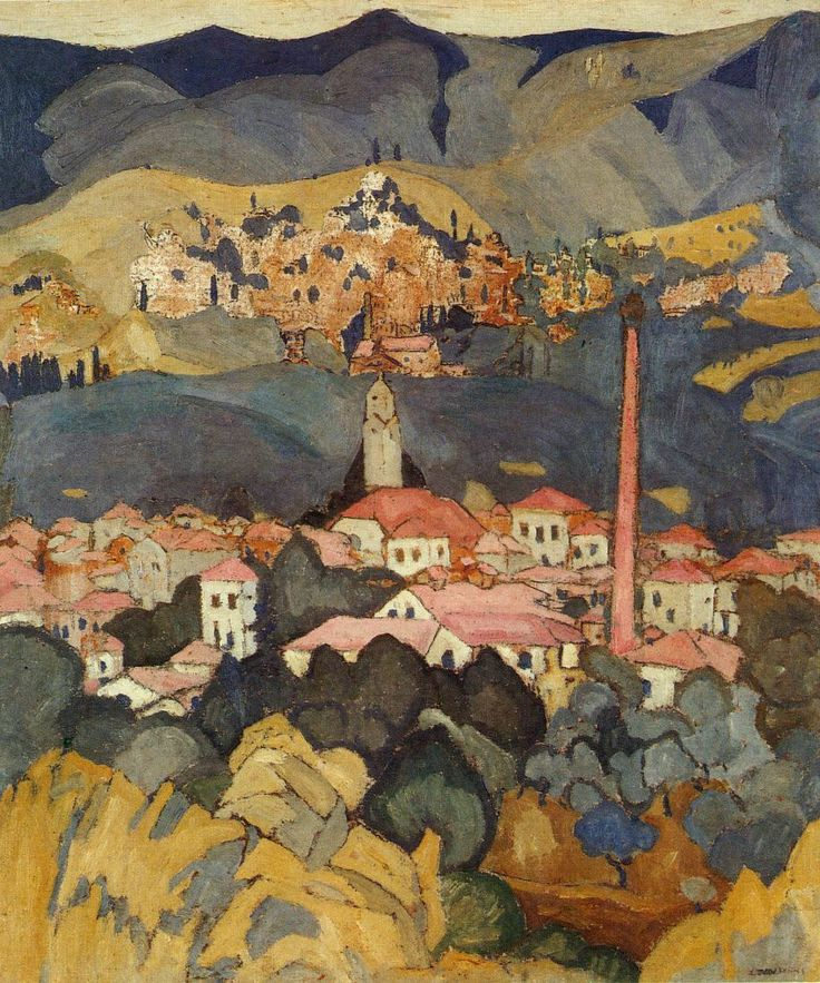 Spyros Papaloukas (Σπύρος Παπαλουκάς Greek, 1892-1957) _see more: http://res-picta.blogspot.gr/2012/01/1892-1957.html