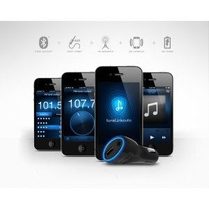 Amazon.com: Tunelink Auto Bluetooth Car Audio Interface for iPhone and iPod Touch: MP3 Players & Accessories