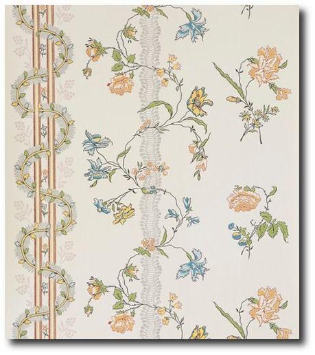 Wall paper Reproduction: Gammalsvenska Collection 'Nyckelviken' by Duro 8