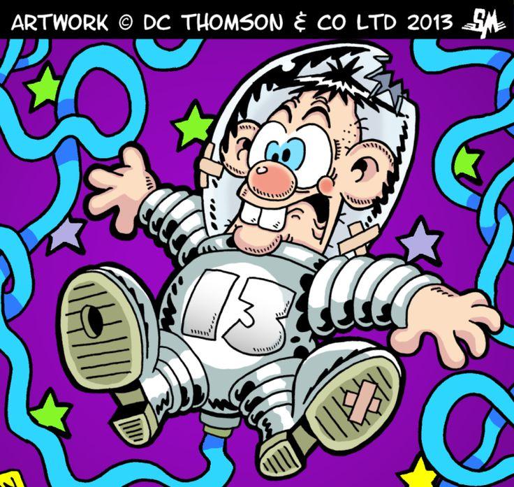 Stu Munro draws Calamity James