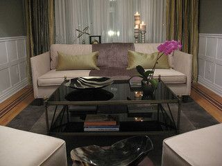 Old Hollywood Living Room