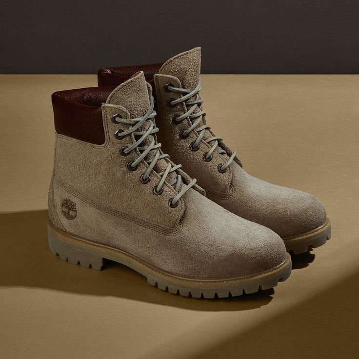 The boot is crafted from Scotch grain leather and textured suede.