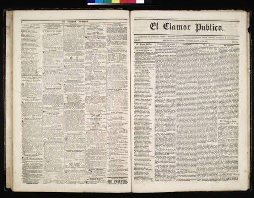 El Clamor Publico, vol. II, no. 44, Mayo 2 de 1857 :: El Clamor Publico Collection, 1855-1859