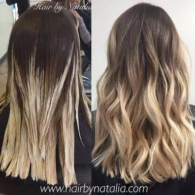 Resultado de imagen para balayage highlights blonde