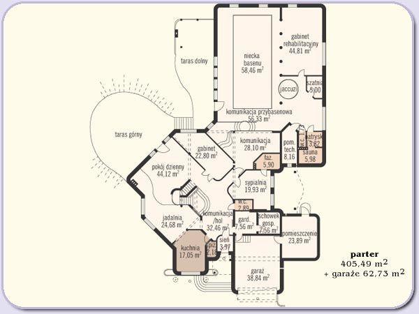 DOM.PL™ - Projekt domu DOM VT1-58 CE - DOM VT1-58 - gotowy projekt domu