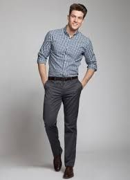 Image result for charcoal grey chinos men