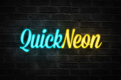 Quick Neon Effect – Photoshop Actions