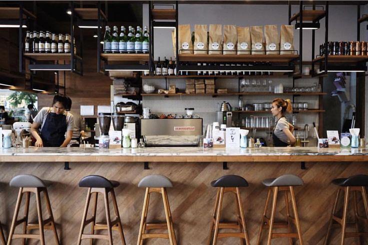 Espresso bar at @roastbkk in Bangkok @jonathanwong via @yellowstuffbkk #acmecups #specialtycoffee #acmeforlife (at Roast Coffee & Eatery at Emquartier)