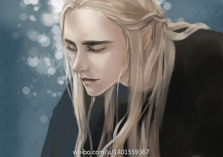 sigun-i-loki: Young Thranduil by moliko