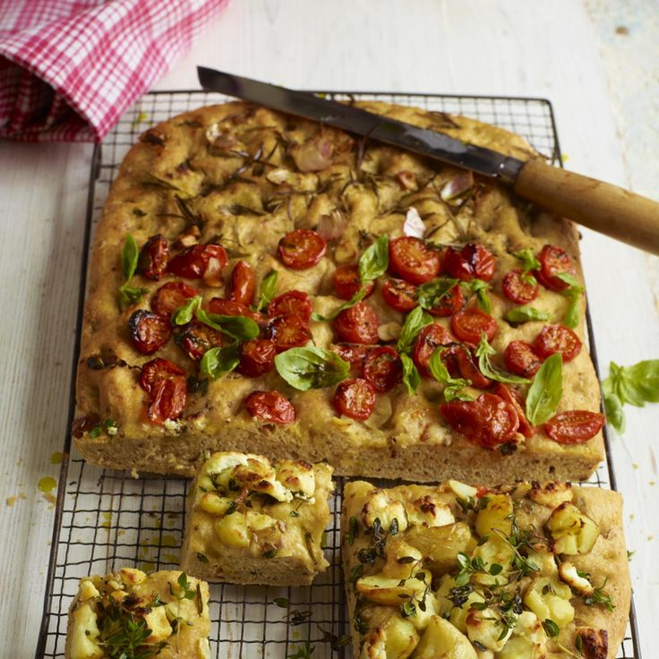 Try this Jamie Oliver Italian recipe for focaccia three ways. It's easy to make and a winner with kids