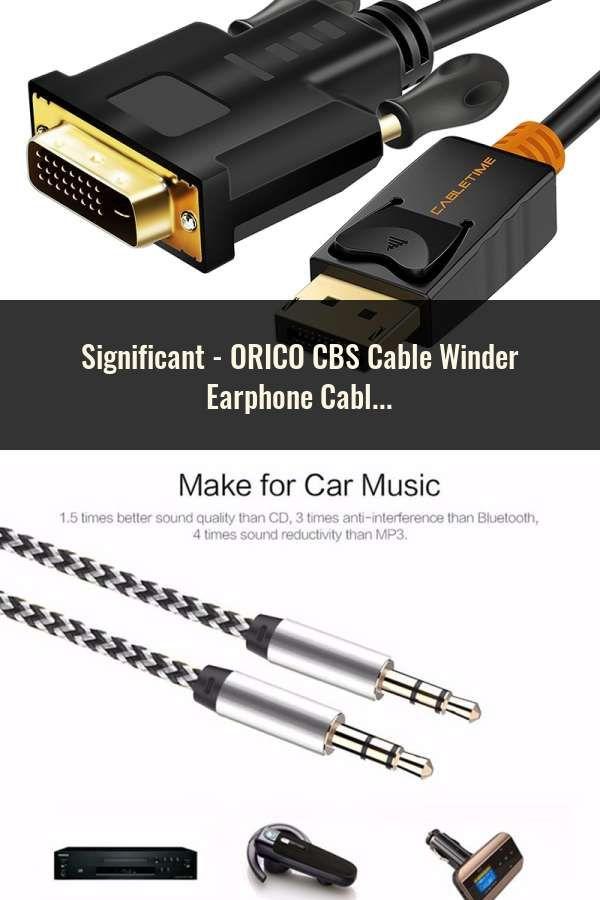 ORICO CBS Cable Winder Earphone Cable Organizer Wire Storage Silicon