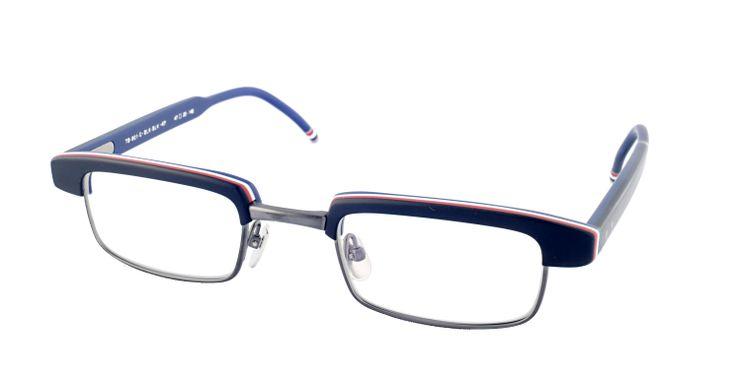 Thom Browne   #GetTheLook #Style #Fashion #Specs #Frames #Glasses #Eyewear #ThomBrowne