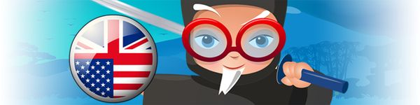 The Professor Ninja English app contains 1000 carefully selected words and phrases, covering the main areas of everyday vocabulary (eg. family, numbers, nature, travel, school, pastimes). To ease the learning process, each word and phrase is accompanied by a picture and an audio recording by a professional native speaker.