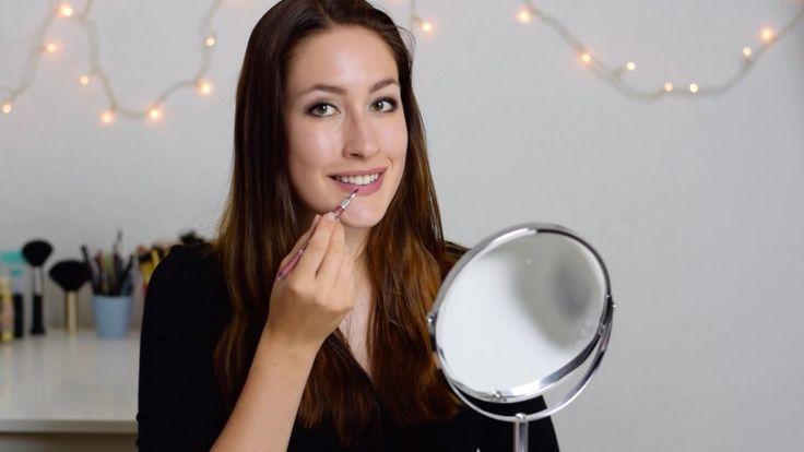 Wunderschöne Lippen   Make-Up Tutorial   Video · #Beauty #Makeup #Tutorial…