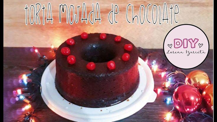 TORTA MOJADA DE CHOCOLATE♥DIY♥ - YouTube